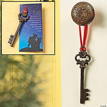 Santa's Key Ornament