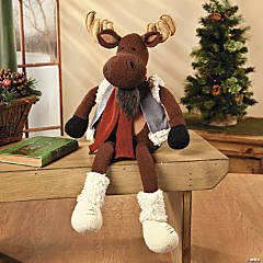 Plush Moose with Vest