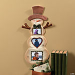 Snowman Picture Frame Wall Hanging