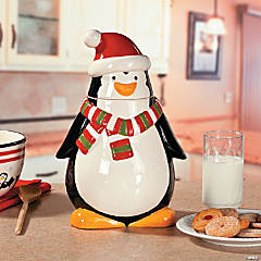 Penguin Cookie Jar
