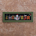 Vintage Christmas Framed Wall Art