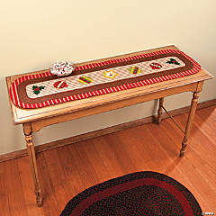 Vintage Look Table Runner