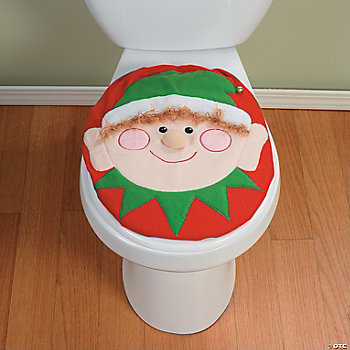 Elf Toilet Lid Cover