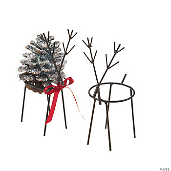 Reindeer Pinecone Holders