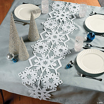 Snowflake Table Runner