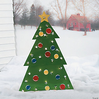 Christmas Tree Lawn Decoration