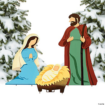 Nativity Scene Yard Décor