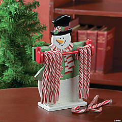 Snowman Candy Cane Holder