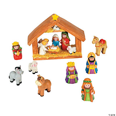 Mini Nativity Set
