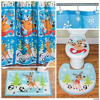 Reindeer Bathroom Collection