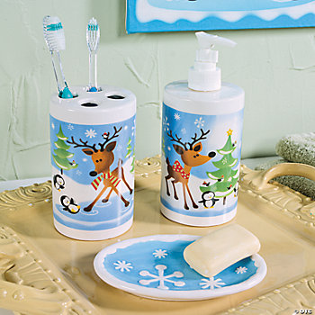 Reindeer Bathroom Accessories