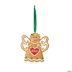 Gingerbread Angel Ornaments