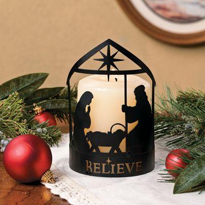 Nativity Candle holder