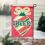 Mini Bright Christmas Yard Flag