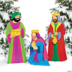 Three Kings Yard Décor