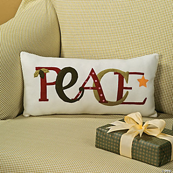 """Peace"" Pillow"
