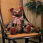 Plush Christmas Bear