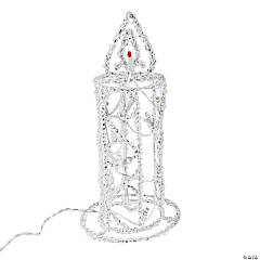 Light-Up Candle Decoration