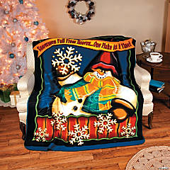 """Snowmen Fall from Heaven"" Throw"