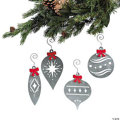 Laser-Cut Christmas Ornaments with Bows