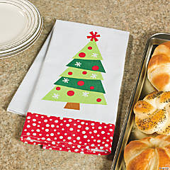 Holiday Tree Towel