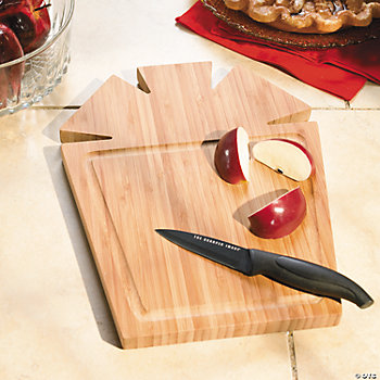 Gift-Shaped Cutting Board