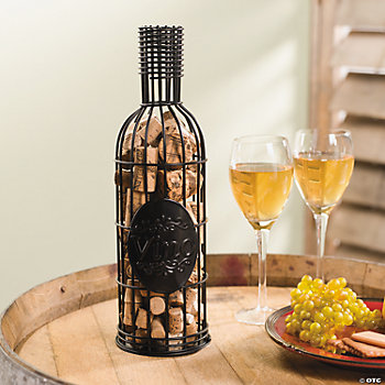 Wine Bottle Cork Container
