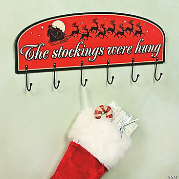 """The Stockings Were Hung"" Hanger"