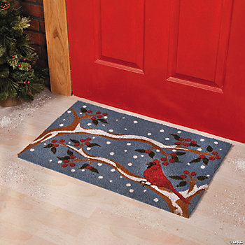 Cardinal Winter Mat