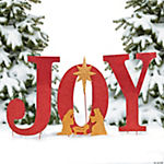 """Joy"" Yard Sign"