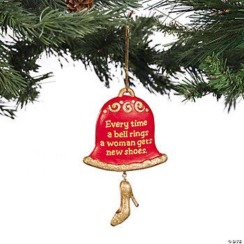 """New Shoes"" Ornament"