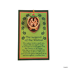 """The Legend Of The Walnut"" Ornaments With Card"