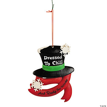 """Dressed to Chill"" Ornament"