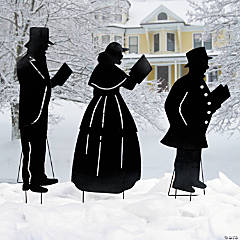 Christmas Caroler Yard Stakes