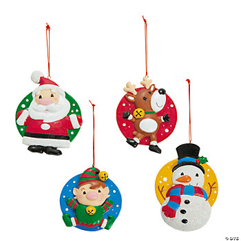Holly Jolly Christmas Ornaments