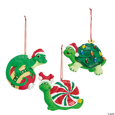 Critter Christmas Ornaments