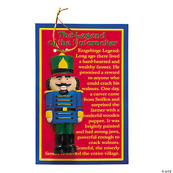 """Legend Of The Nutcracker"" Ornaments"
