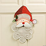 Metal Santa Mesh Wall Décor