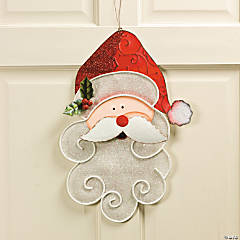 Santa Mesh Wall Décor
