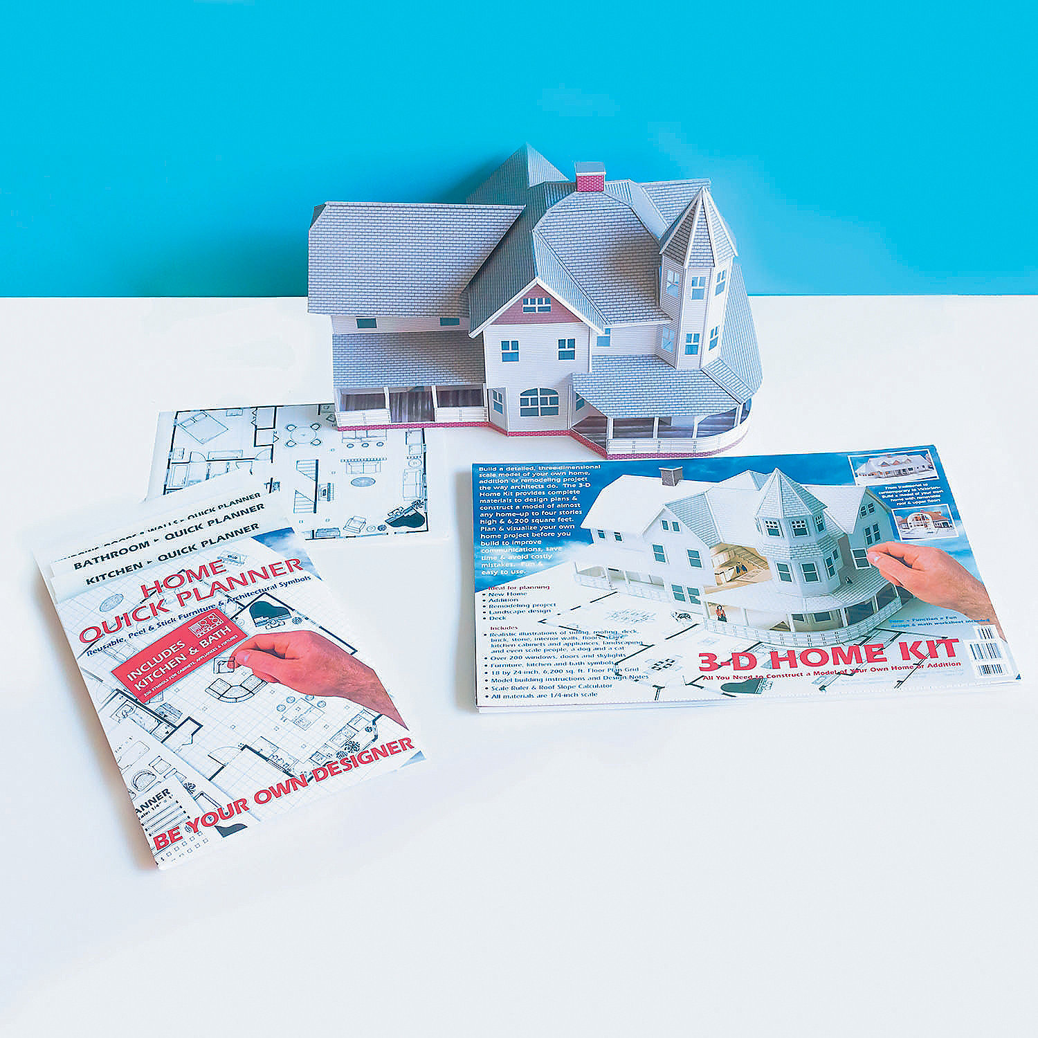 3 D Home Kit and 2 D Home Quick Planner Set of 2