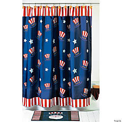 Uncle Sam Shower Curtain