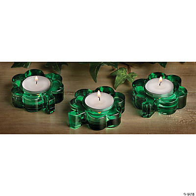 Shamrock Tea Light Holders