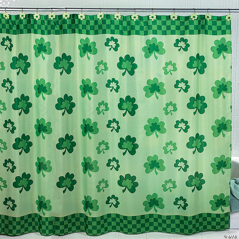 Shamrock Shower Curtain - Discontinued
