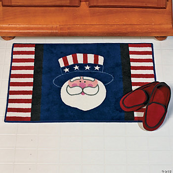 Uncle Sam Bath Mat