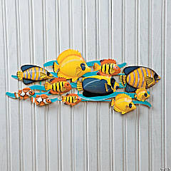 In-the-Swim Wall Hanging