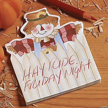 Scarecrow Sticky Notes