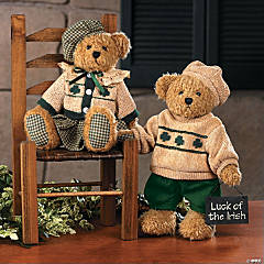 Plush Paddy's Girl Bear