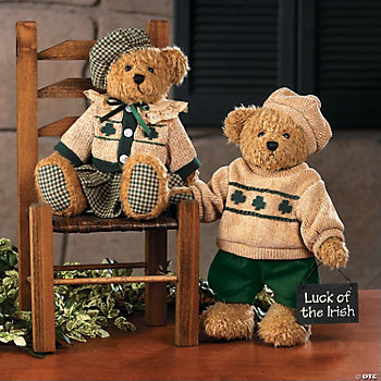 Patty Girl & Paddy Boy Bears