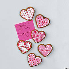 Valentine Cookie Magnets