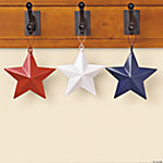 Patriotic Barn Star Ornaments